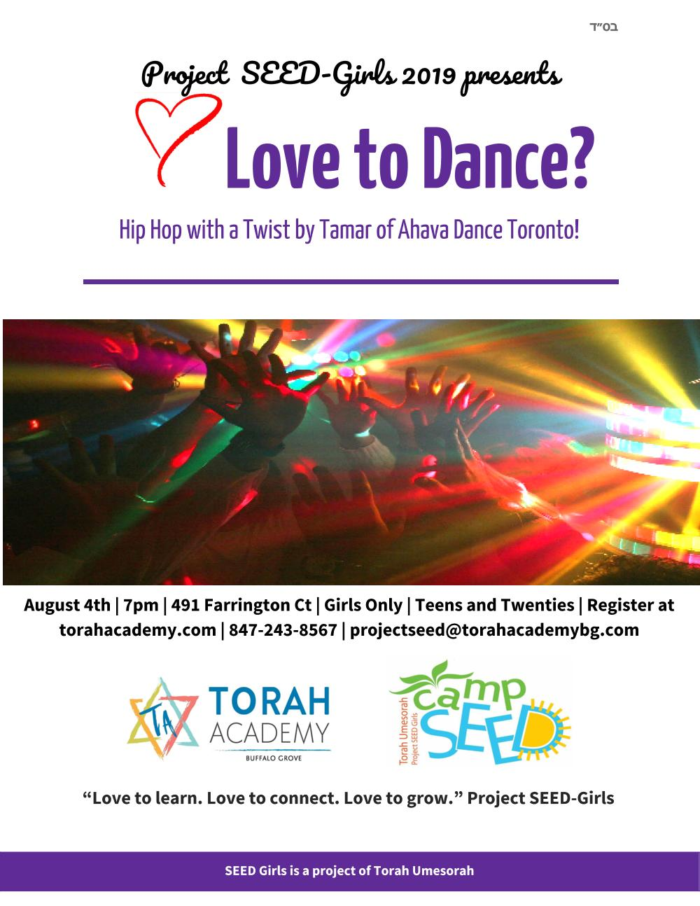 Dance to a new Jewish beat!  Learn some awesome dance moves like you've never seen before!   $10