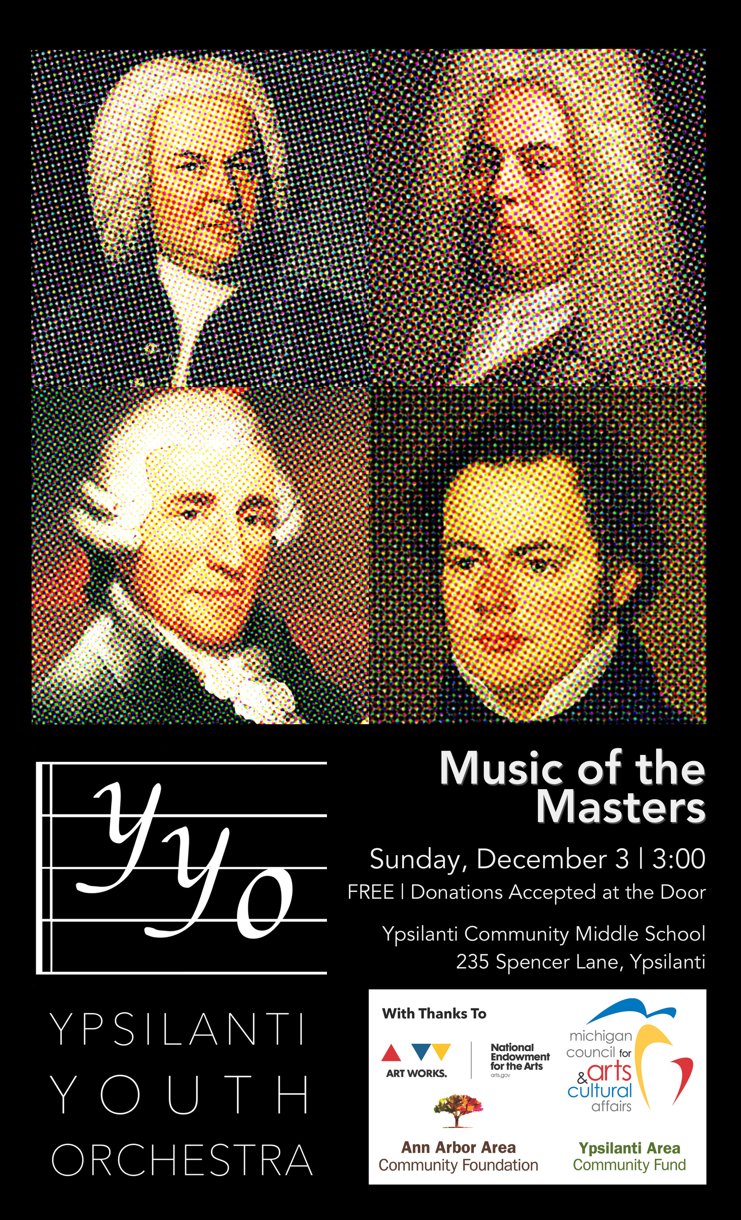 Music of the Masters | December 3, 2017