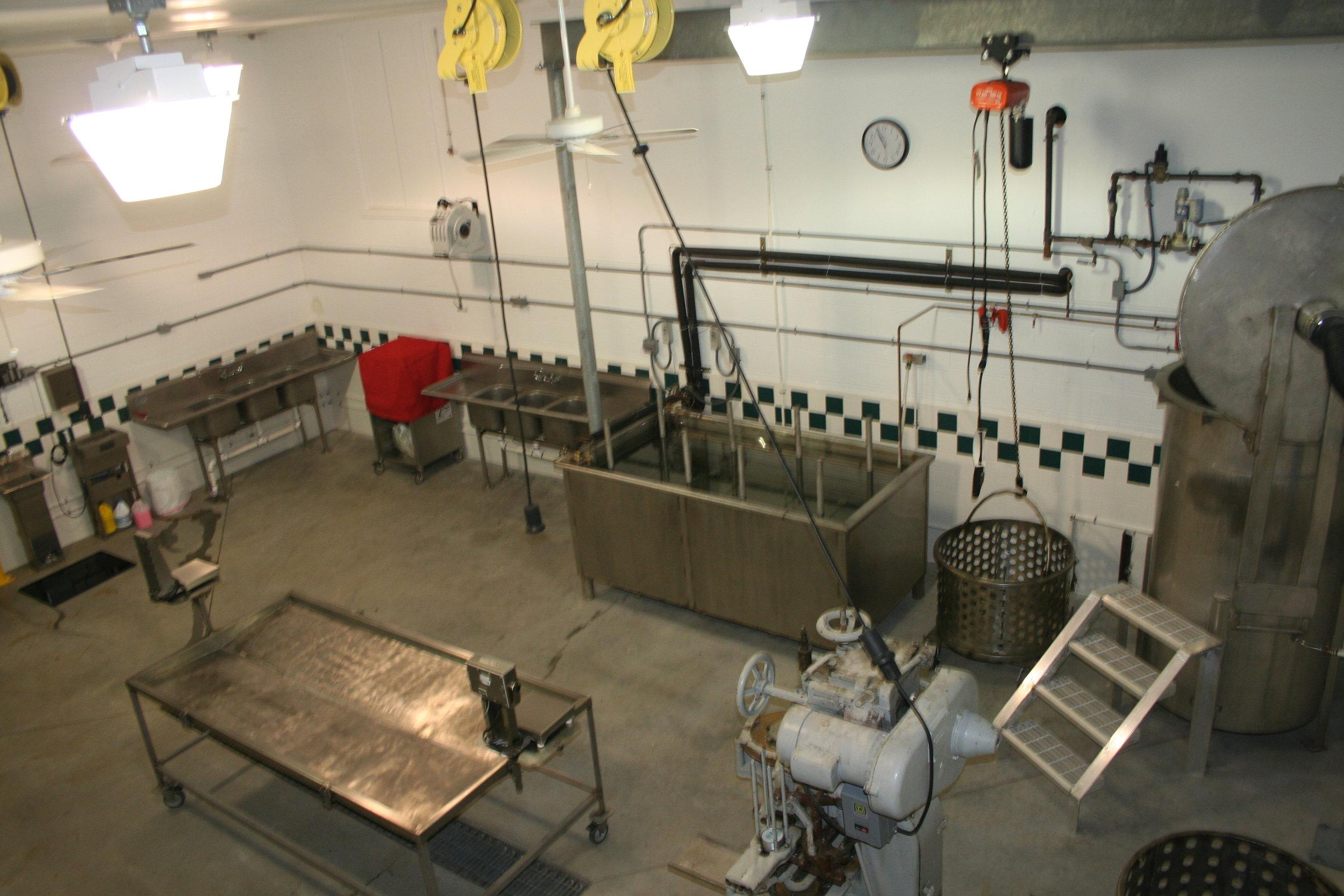 J&W Seafood - Pasteurization Room