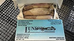 Frozen Box Squid
