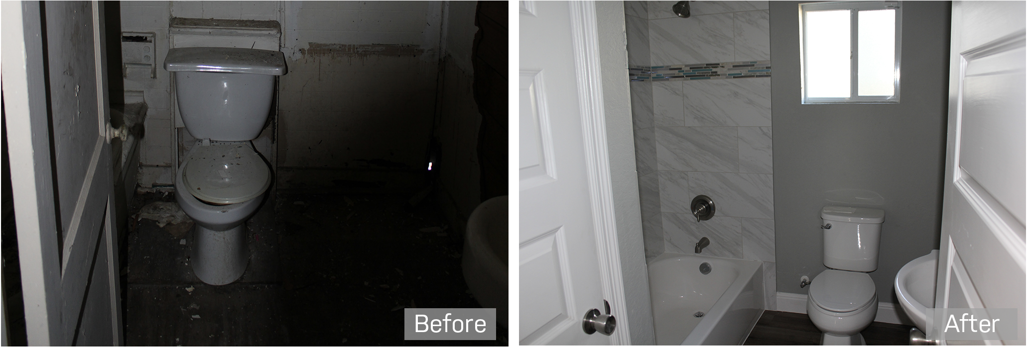 bathroom renovation investment property