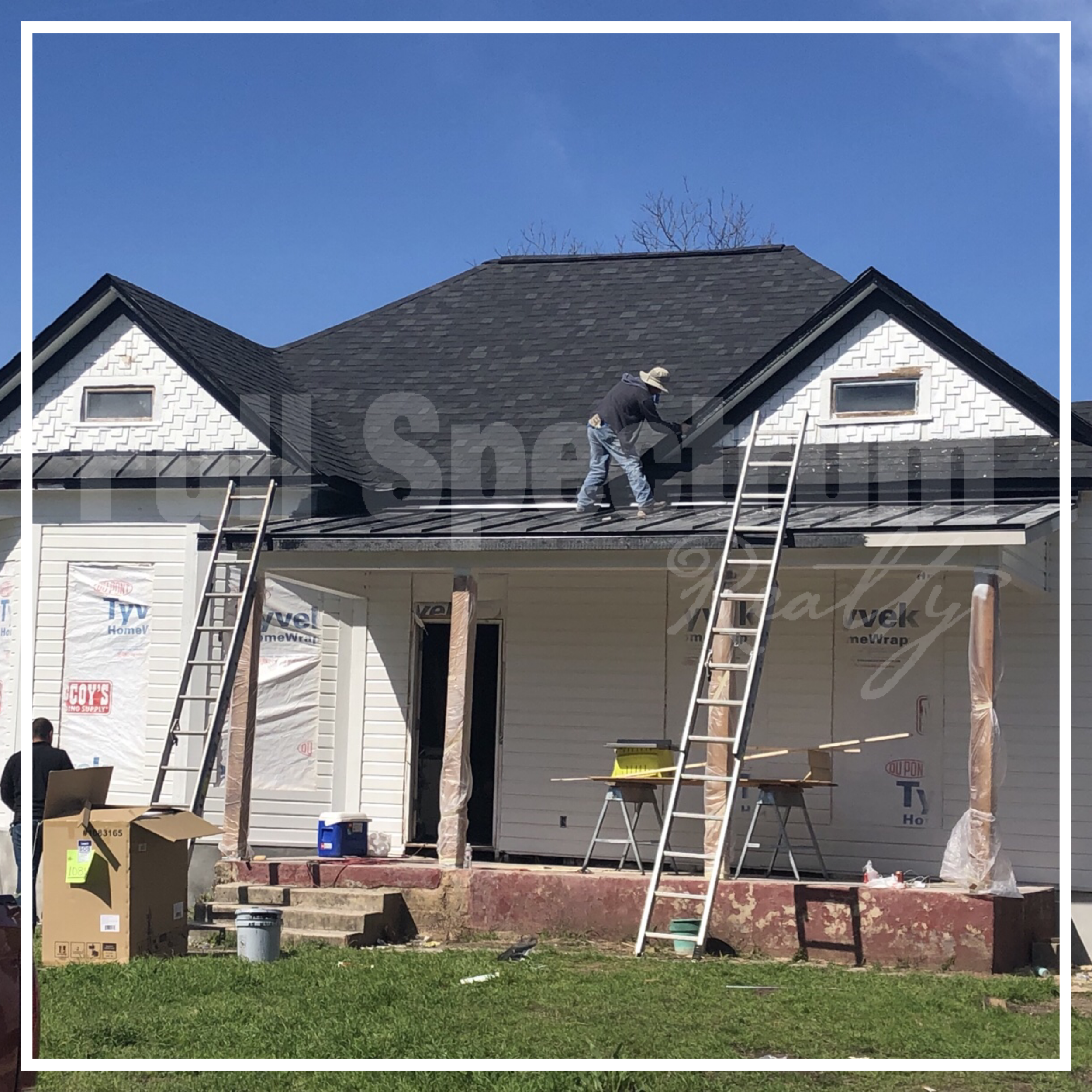 exterior paint renovation San Antonio
