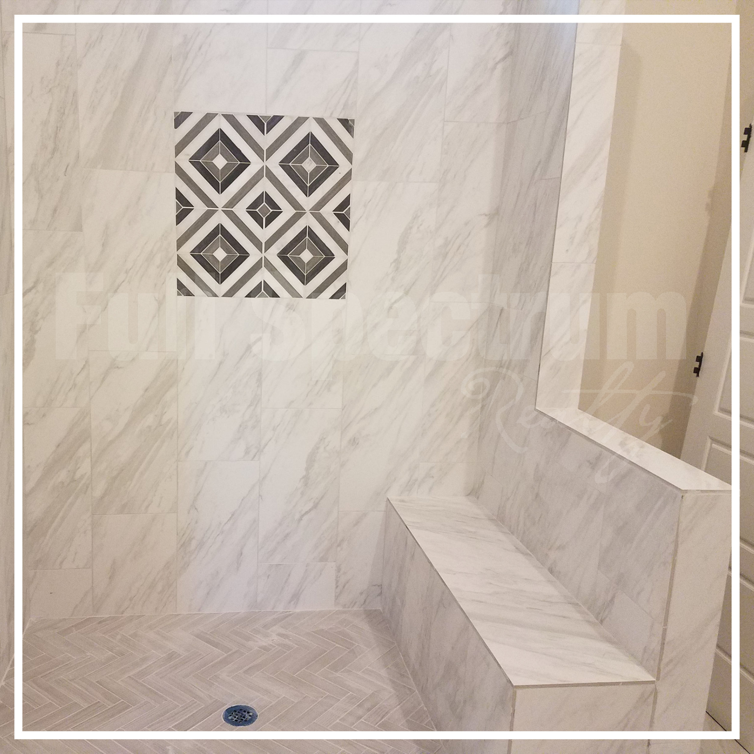 master bath tile design