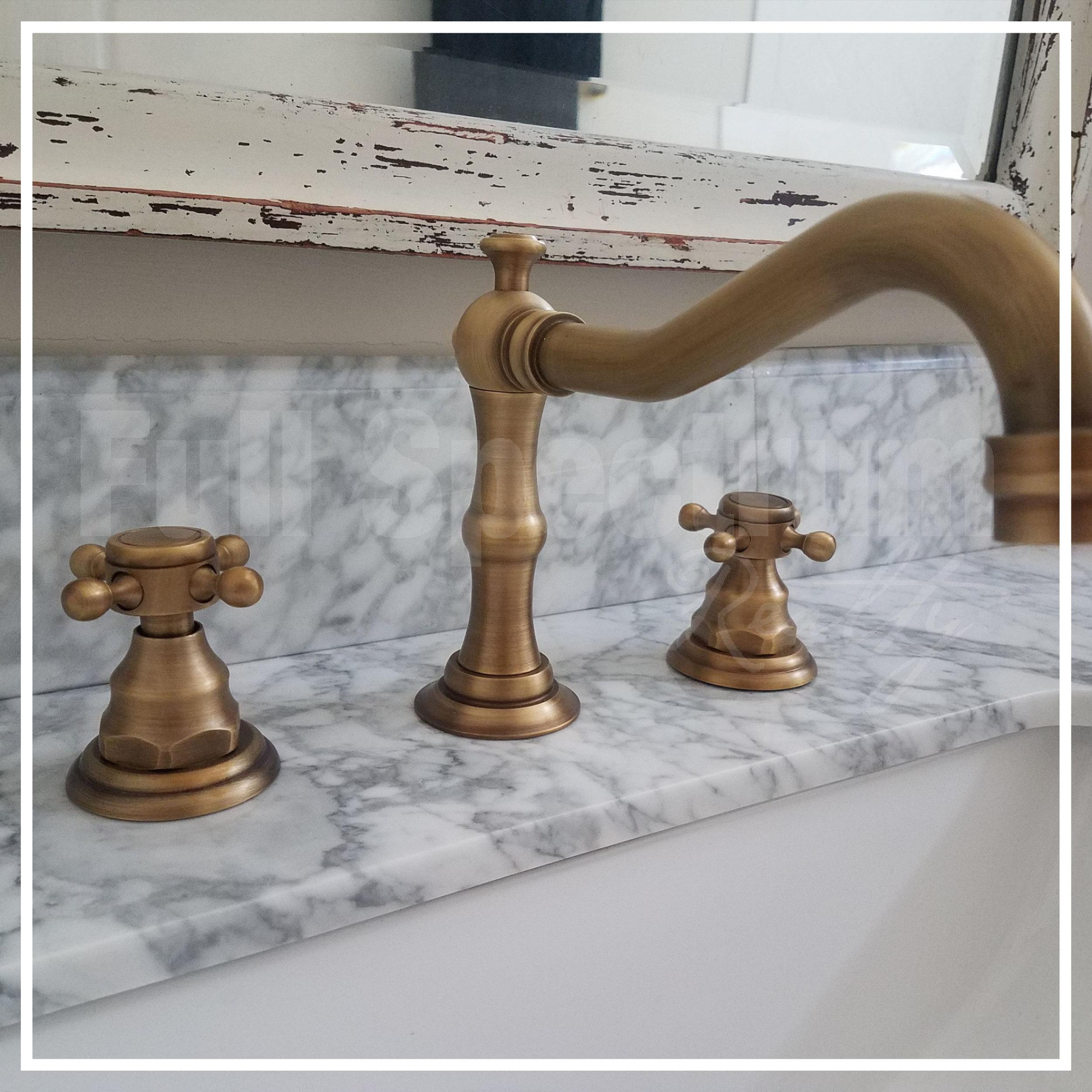 guest bathroom faucet