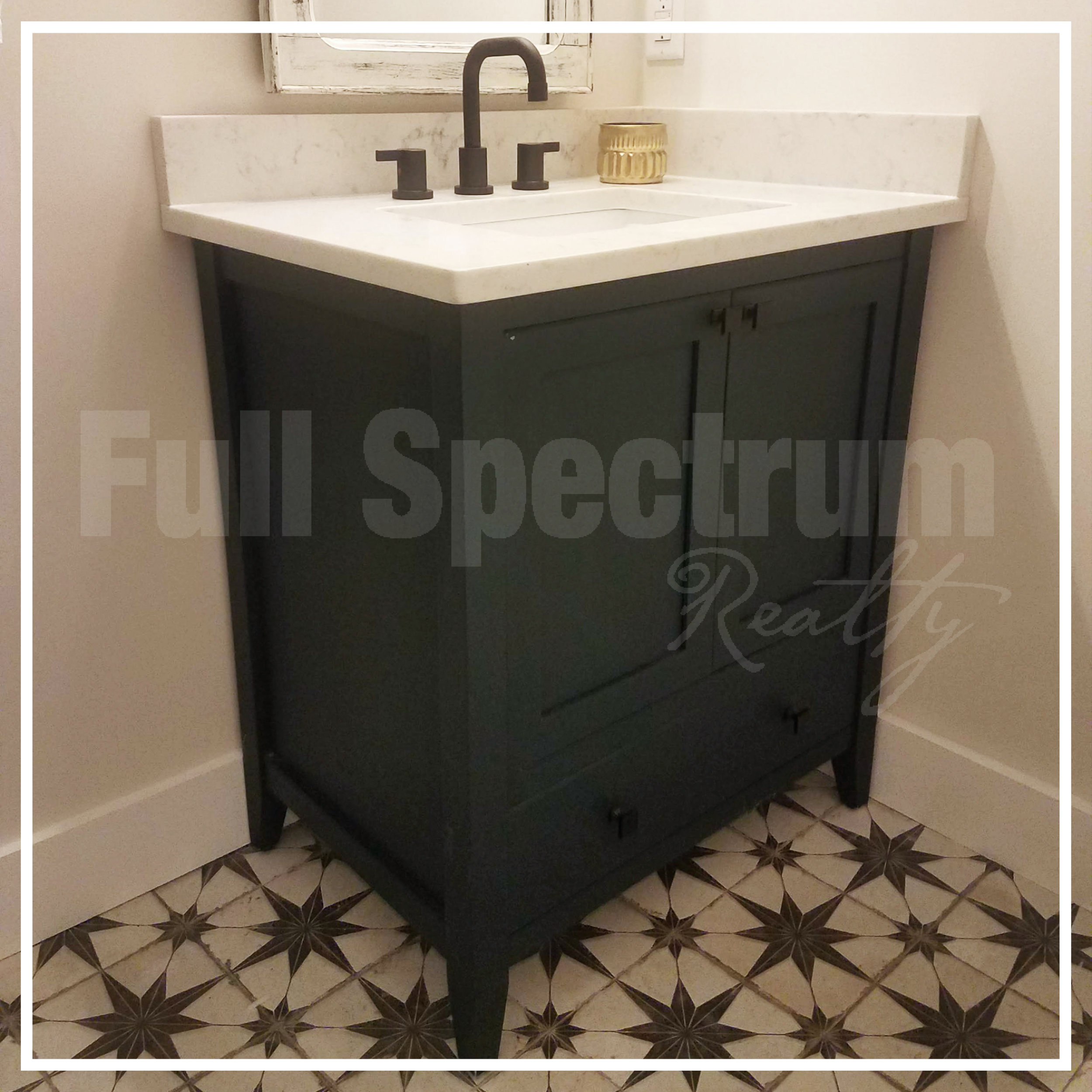 small guest bathroom vanity