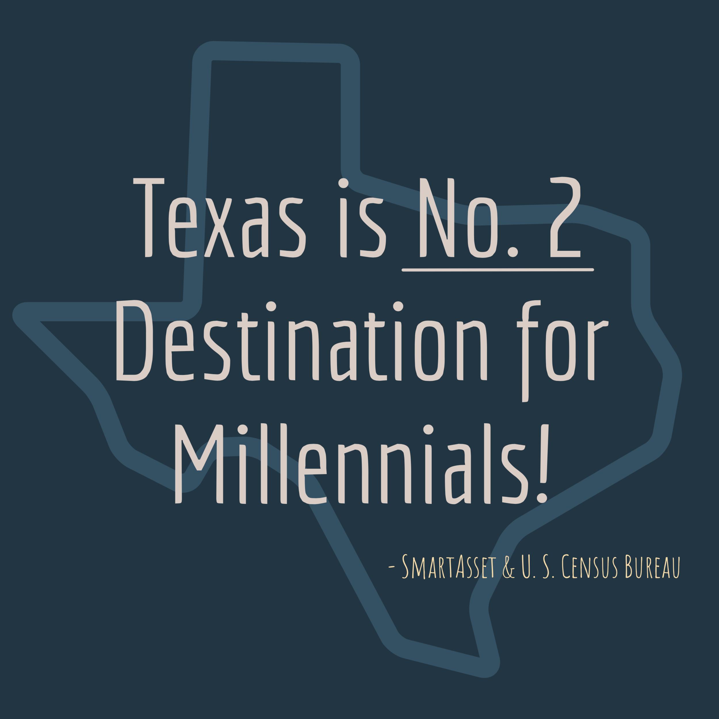 millennials love Texas