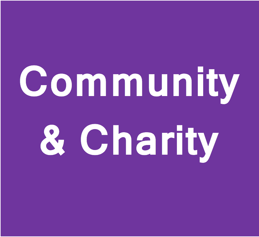 For a full list of charitable, community, voluntary and sporting sector testimonials