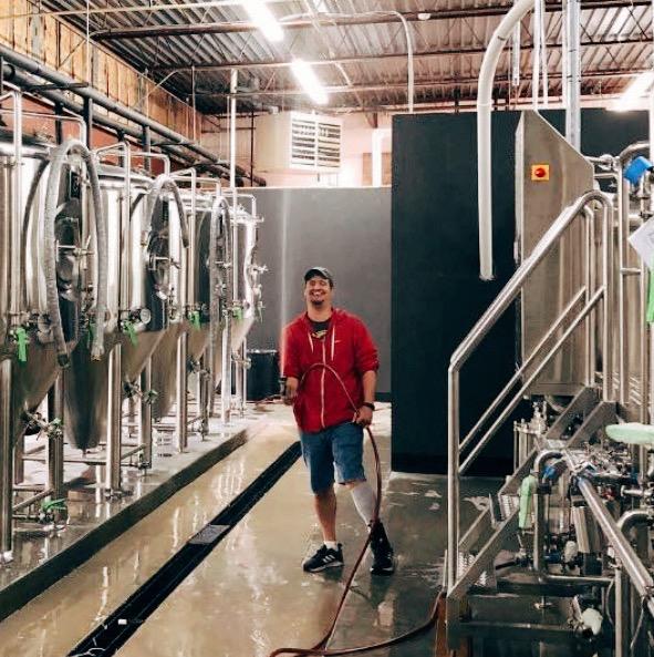 Quique - Brewmaster  Hometown - San Juan, Puerto Rico  Hobbies - Camping, Mosaic Art, Drinking Beer  Favorite Band - Enanitos Verdes