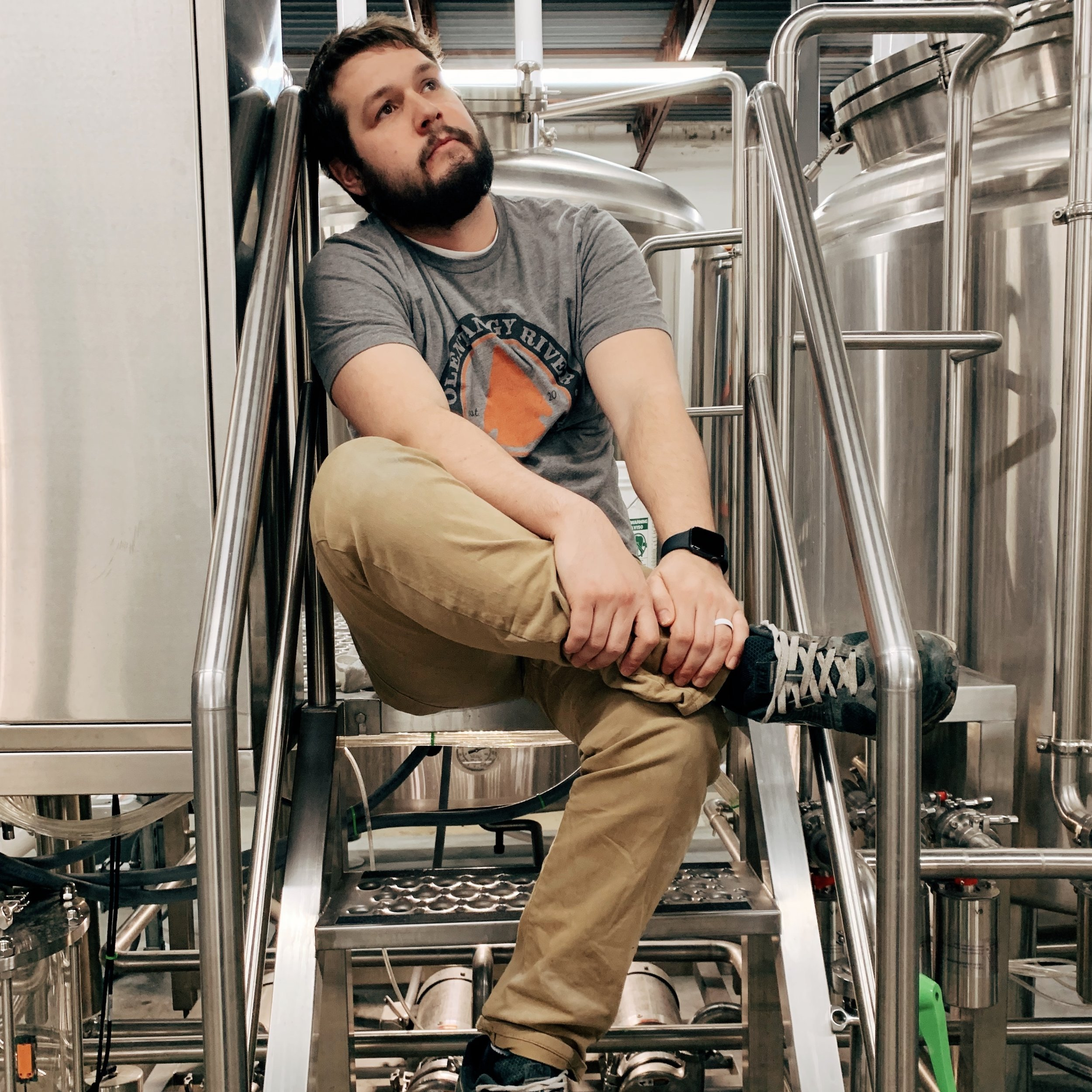 Colin - Cellar Manager  Hometown - Westerville, OH  Hobbies - Ford Mustangs, Spending time with wife & daughter, shooting skeet  Favorite Band - Destinys Child