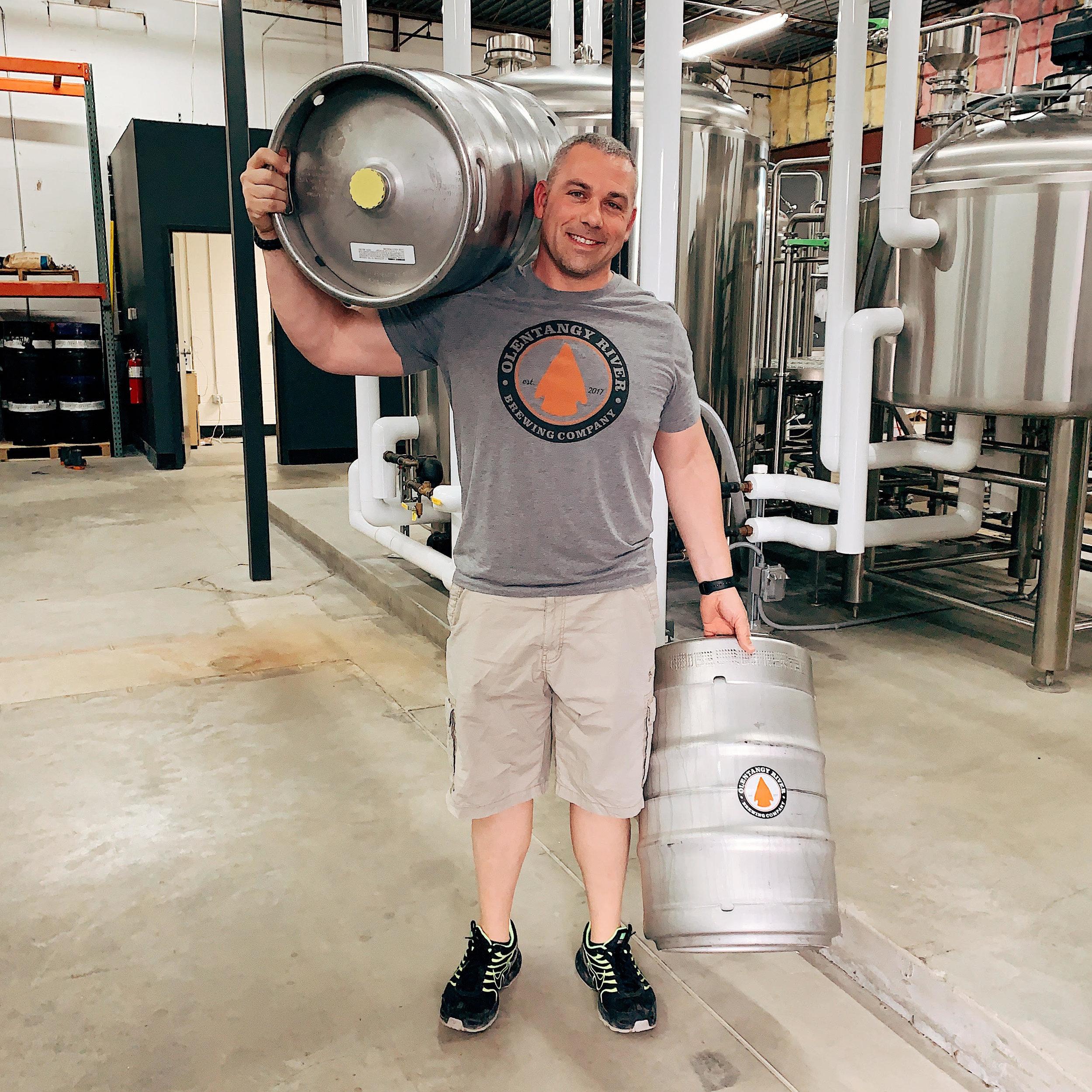 Josh - Brewer  Hometown - Celina, OH  Hobbies - Making Beer, Drinking Beer, Shooting skeet  Favorite Musician - Bob Marley