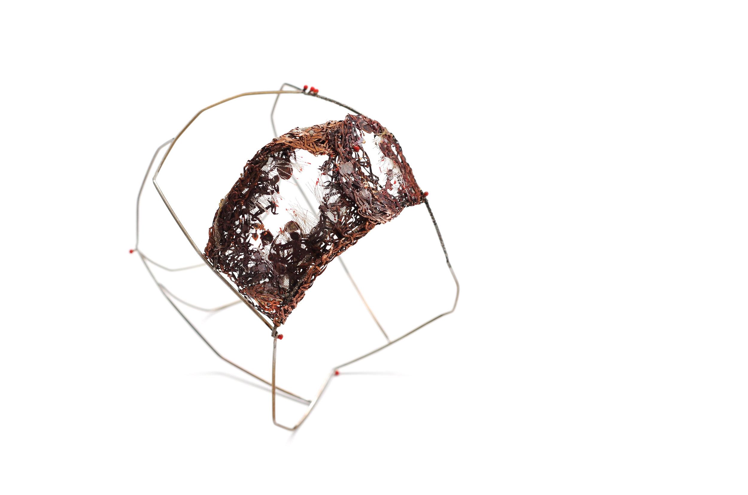aelita ba graduate collection crochet contemporary jewellery