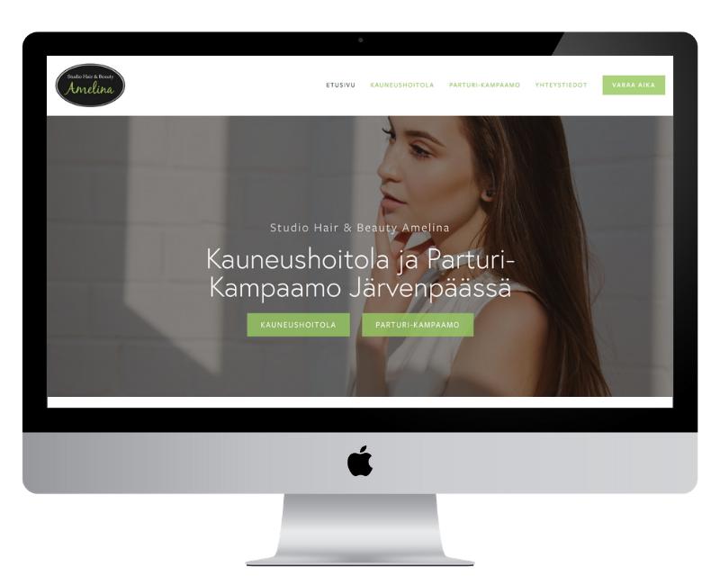 Responsiiviset Squarespace-kotisivut pienelle yritykselle | Helsinki