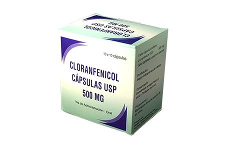Cloranfenicol cáp. USP 500 mg