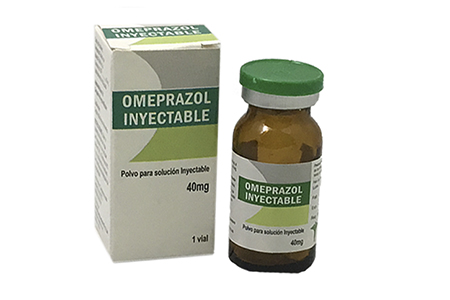 Omeprazol inyectable polvo para solución inyectable 40 mg