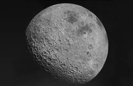 The dark side of the moon.  Del Sole built his own observatory in the countryside outside Rome, and L'Osservatorio de Claudio del Sole astronomical observatory near Cervara di Roma bears his name.