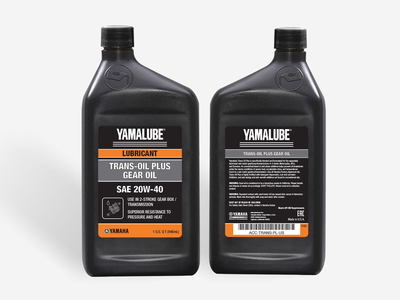 Yamalube – Trans Oil Plus Gear Oil | SAE 20W-40