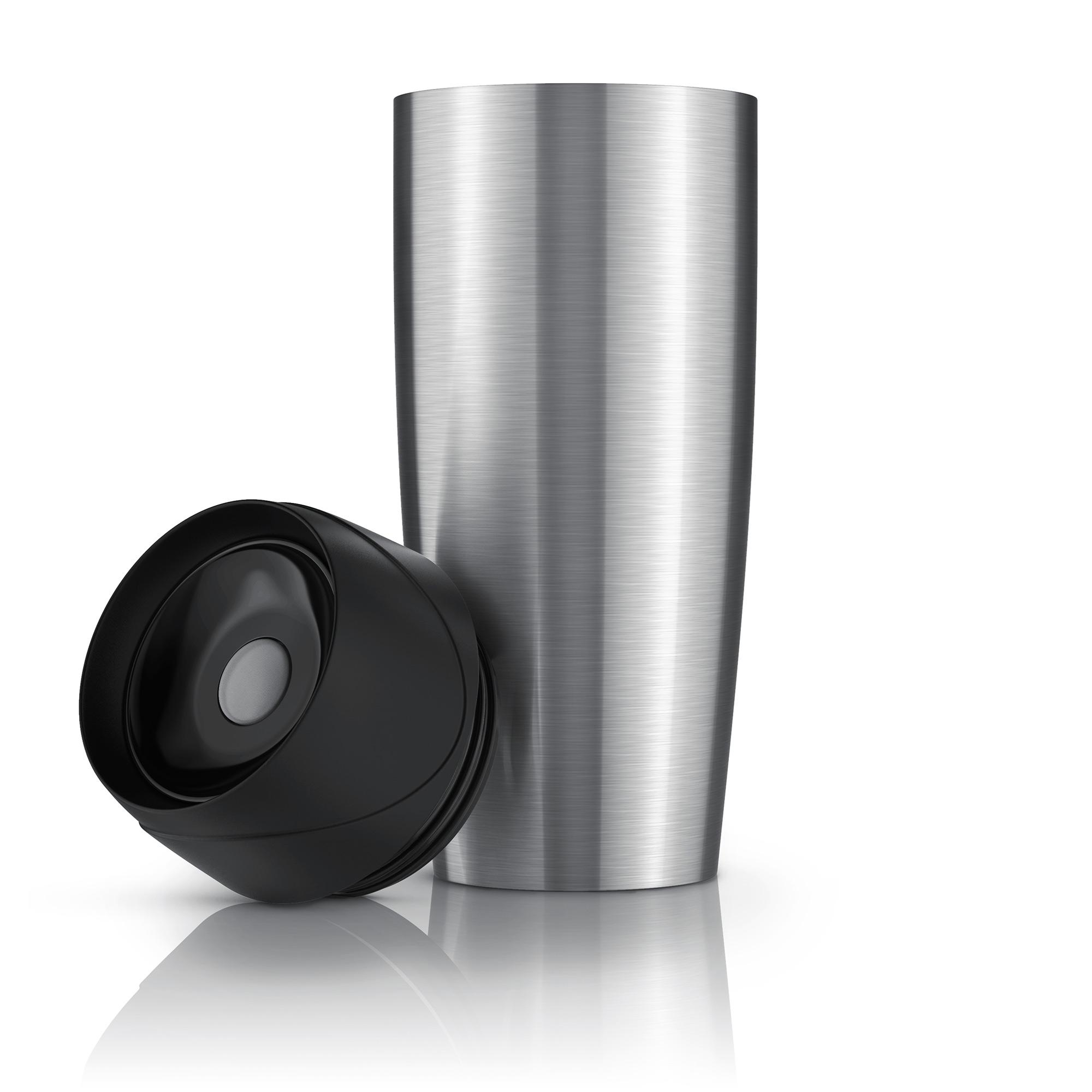 TRAVEL - EDELSTAHL THERMOBECHERReisebecherDoppelwanding mit Vakuumisolierung Einhand-BedienungFüllmenge: 450ml360° Trinköffnung100% luftdichter VerschlussAbnehmbarer DeckelSpülmaschinenfestWiederverwendbar (umweltschonend)BPA-frei Mod. Nr.: 303049DIREKT BEI AMAZON KAUFENDIREKT BEI OTTO KAUFEN