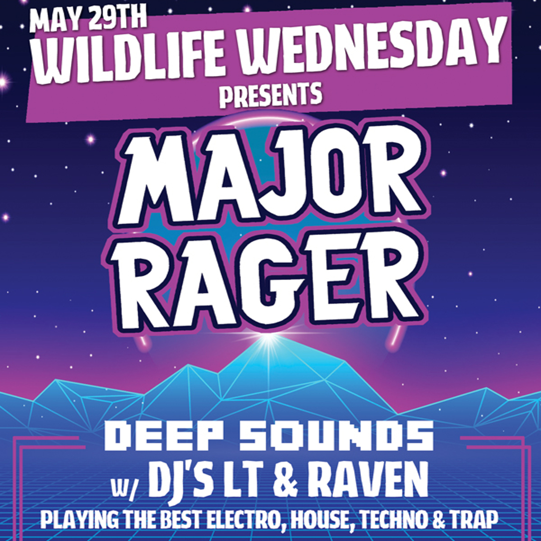 Major Rager Wednesday — The Best of Banff Nightclubs