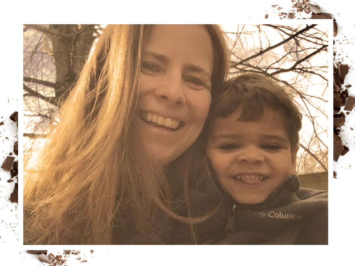Dani Woo and her son, Jordan