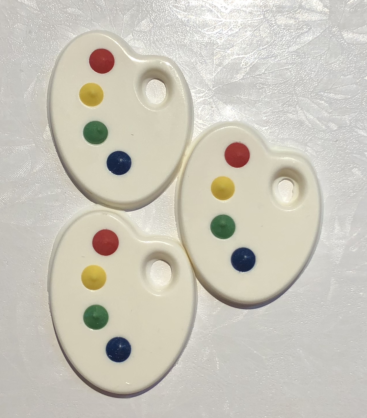 White Chocolate Artist Palette Toppers