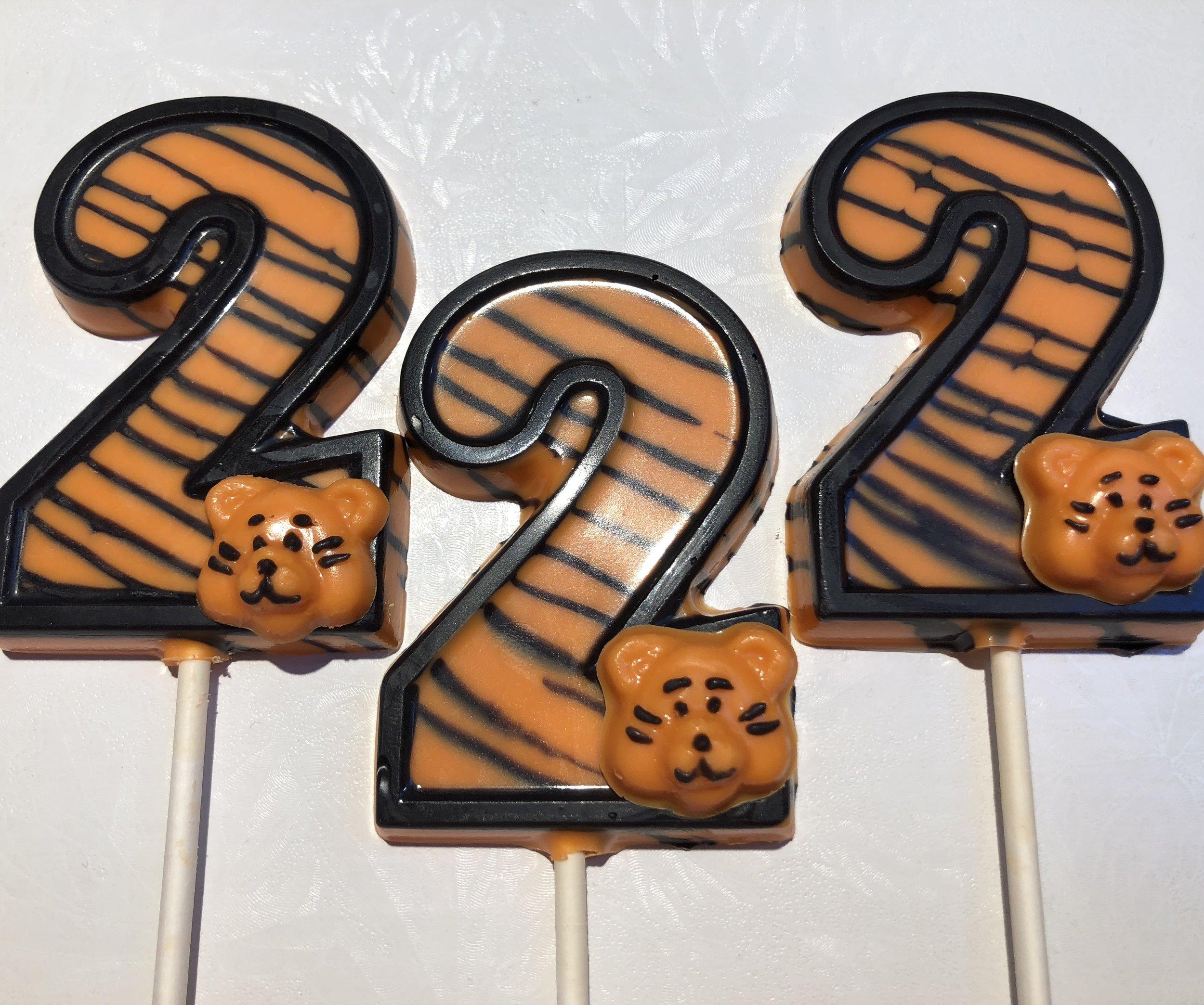 Birthday Tiger Lollipops