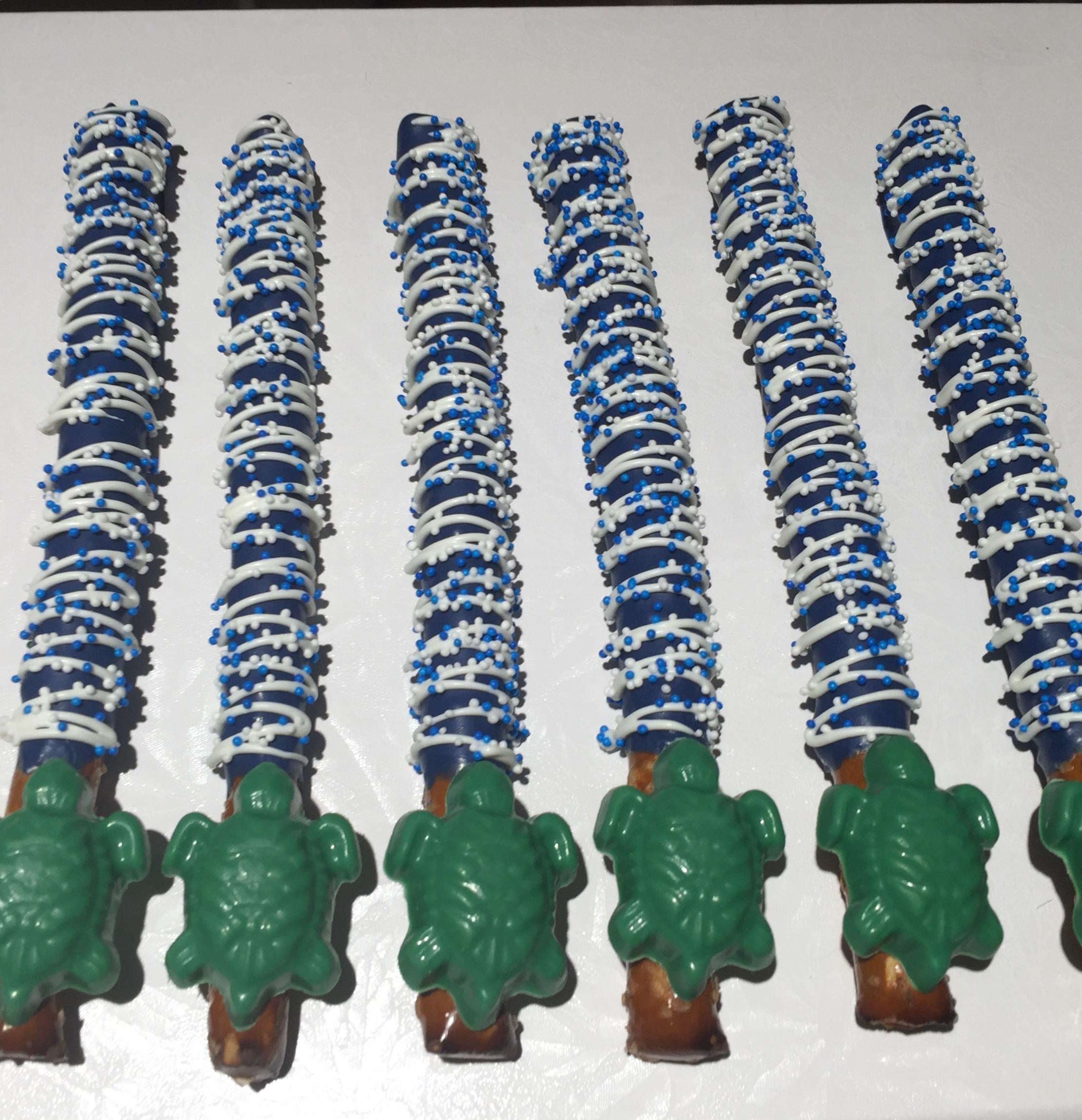 Turtle Pretzels