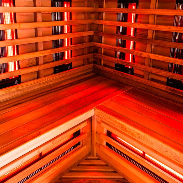 Innovative Health and Performance Infrared sauna bench