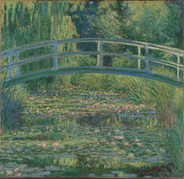 Claude Monet,  The Water- Lily Pond ,(1899), The National Gallery,London