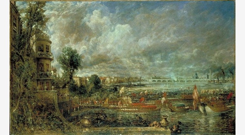 John Constable, The Opening of Waterloo Bridge,1832, Tate