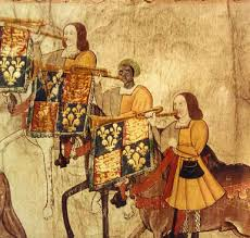 Image of John Blanke, Royal Trumpeter, The National Archives