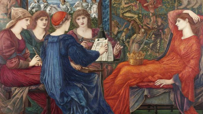 Edward Coley Burne Jones,  Laus Generis ,1973-8, Laing Art Gallery, Newcastle