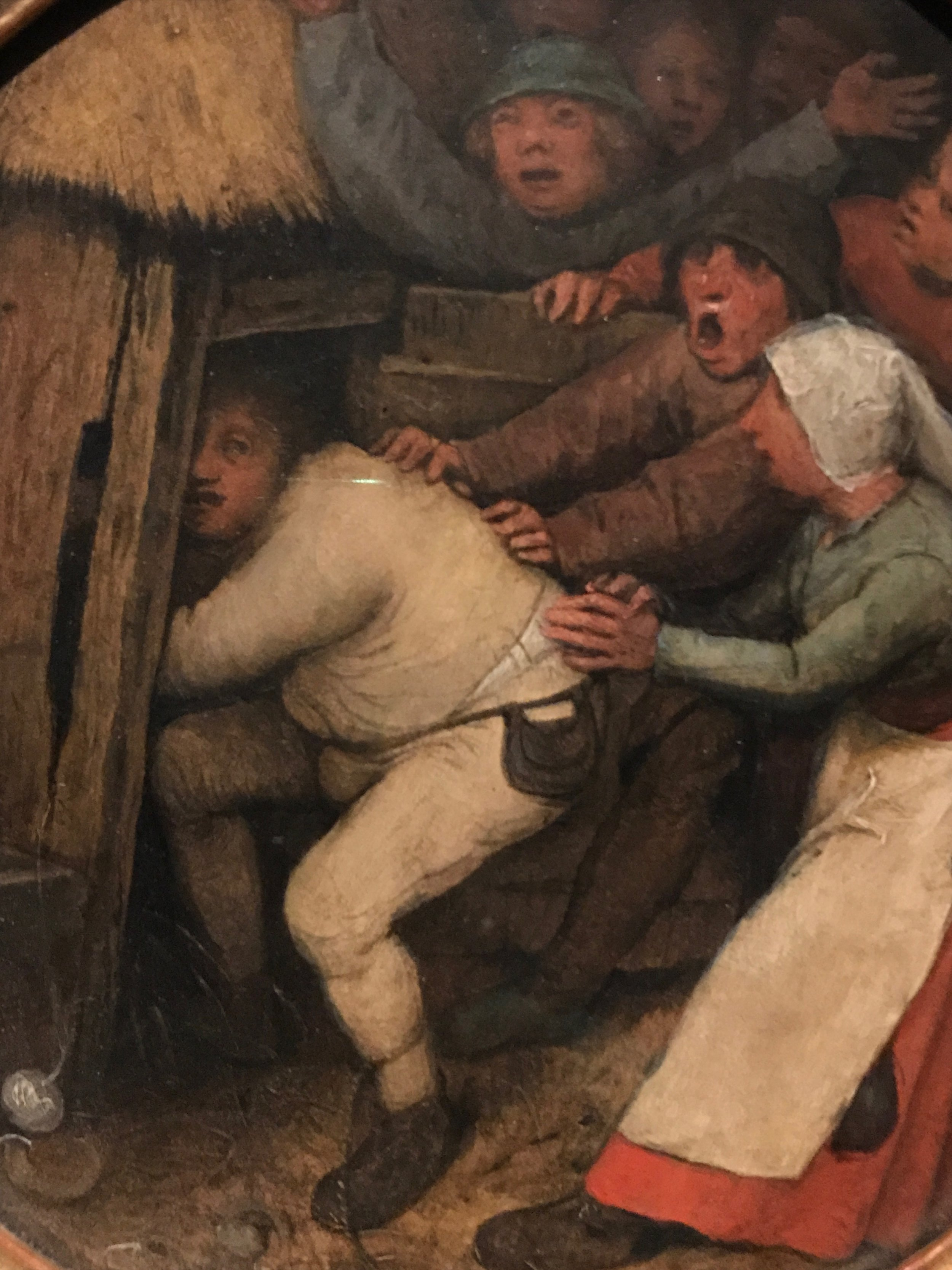 Pieter Bruegel the Elder,  The Drunk Cast Into the Pigsty , 1557, (private collection)