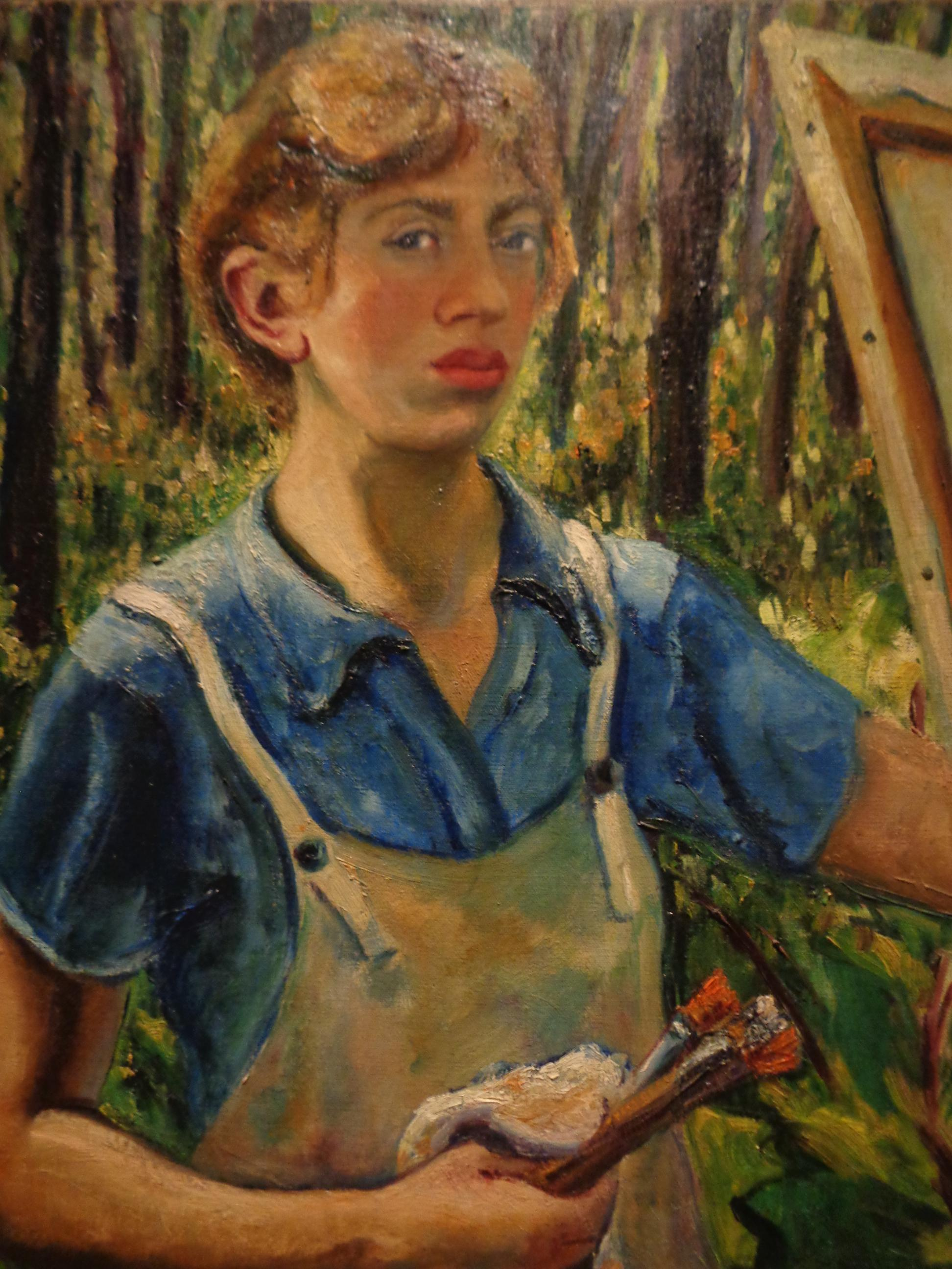 Lee Krasner, Self Portrait c 1928,The Jewish Museum, New York