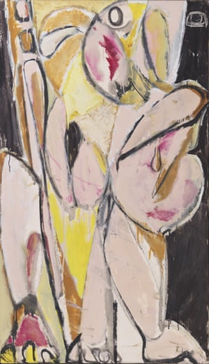Lee Krasner, Prophecy, 1956,private collection