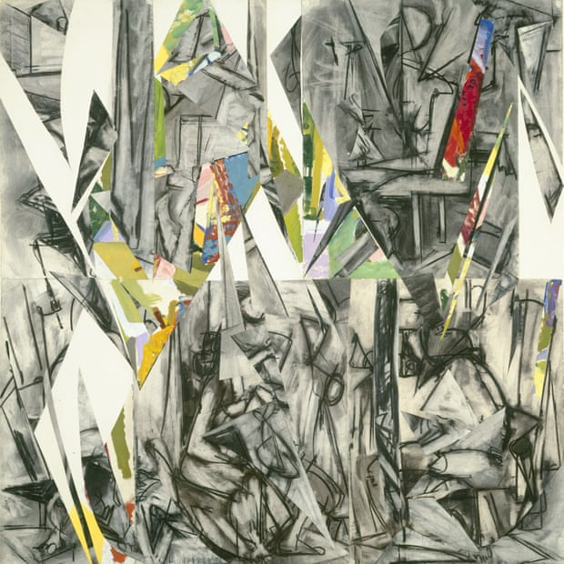 Lee Krasner, Imperative, 1976,, featuring cut-up earlier drawings. Photograph: The Jewish Museum