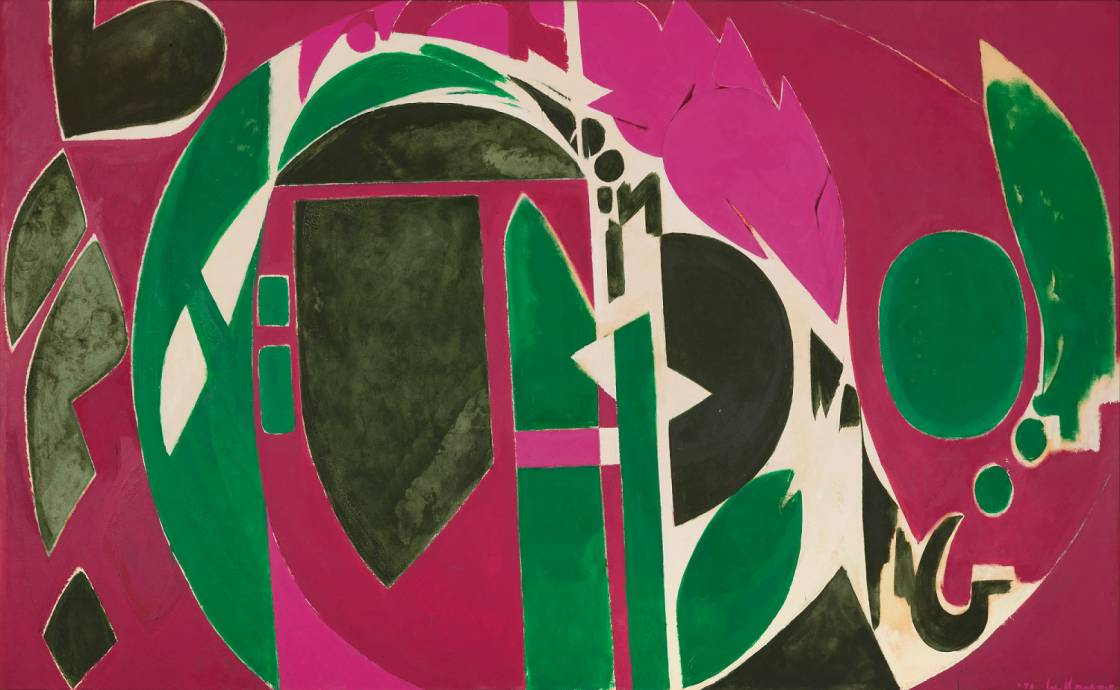 Lee Krasner, Palingenesis,1971, The Pollock-Krasner Foundation