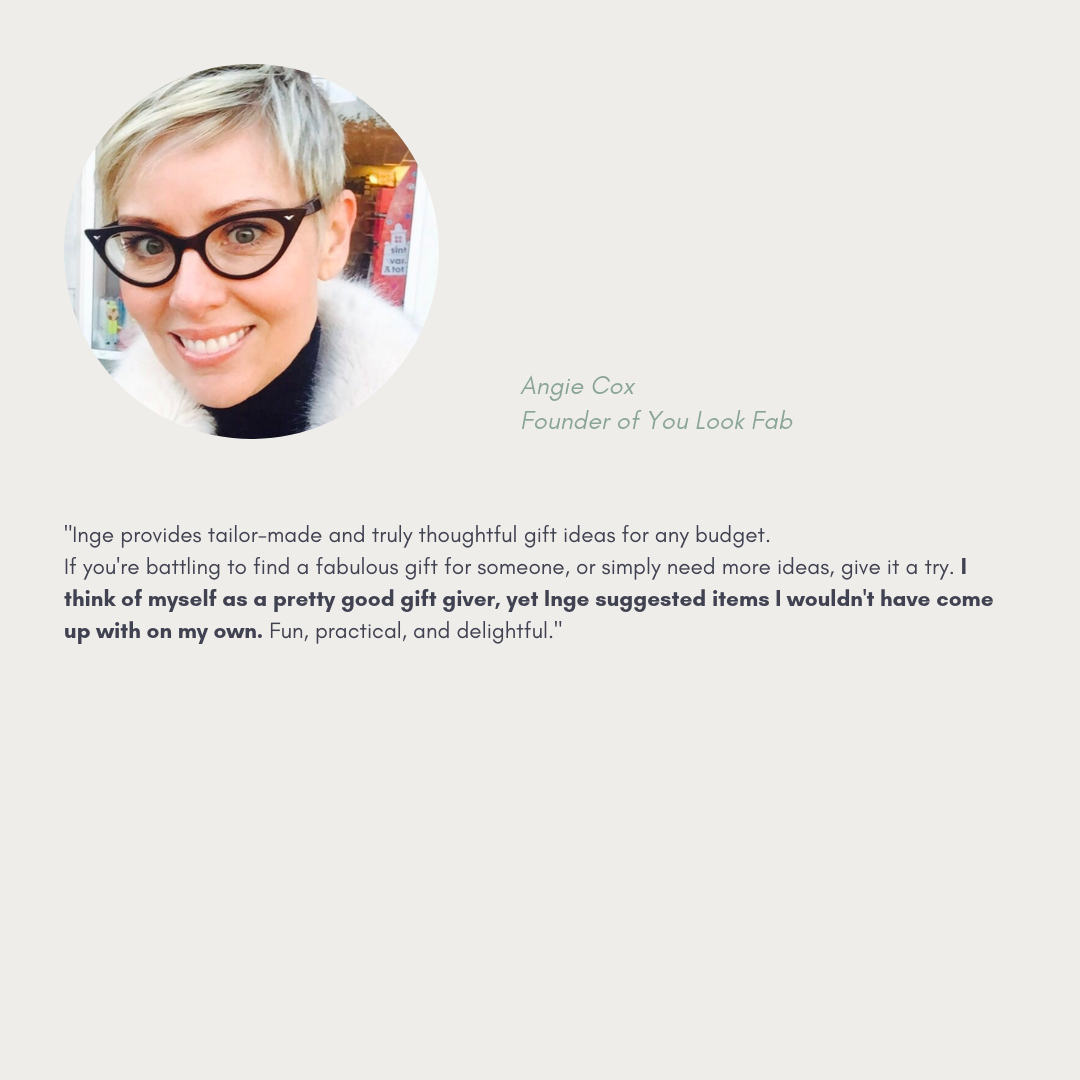 Thoughtful Gesture Testimonial Angie Cox