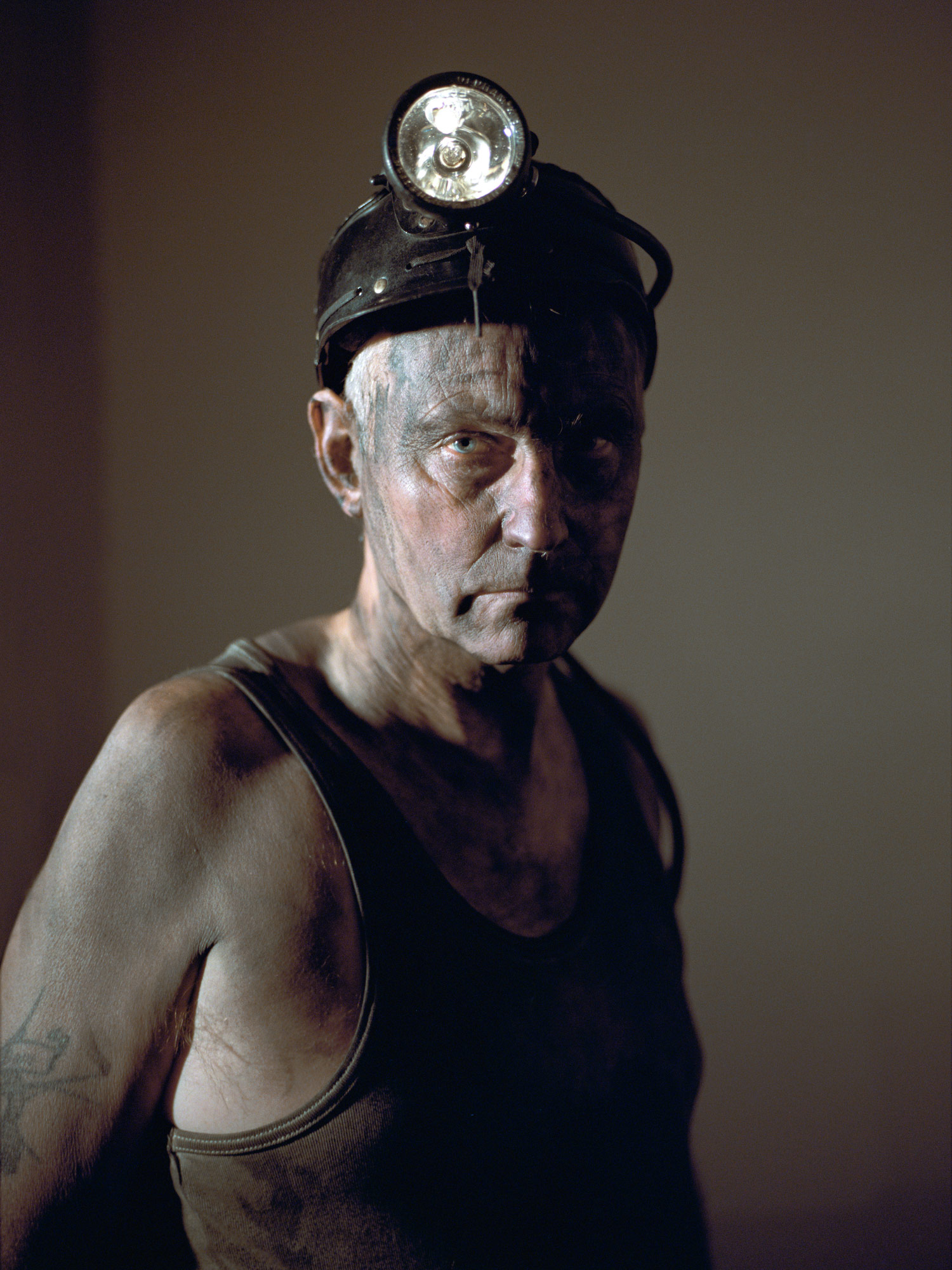 """David Coleman, an ex-miner known locally as """"The Pitman Poet""""."""