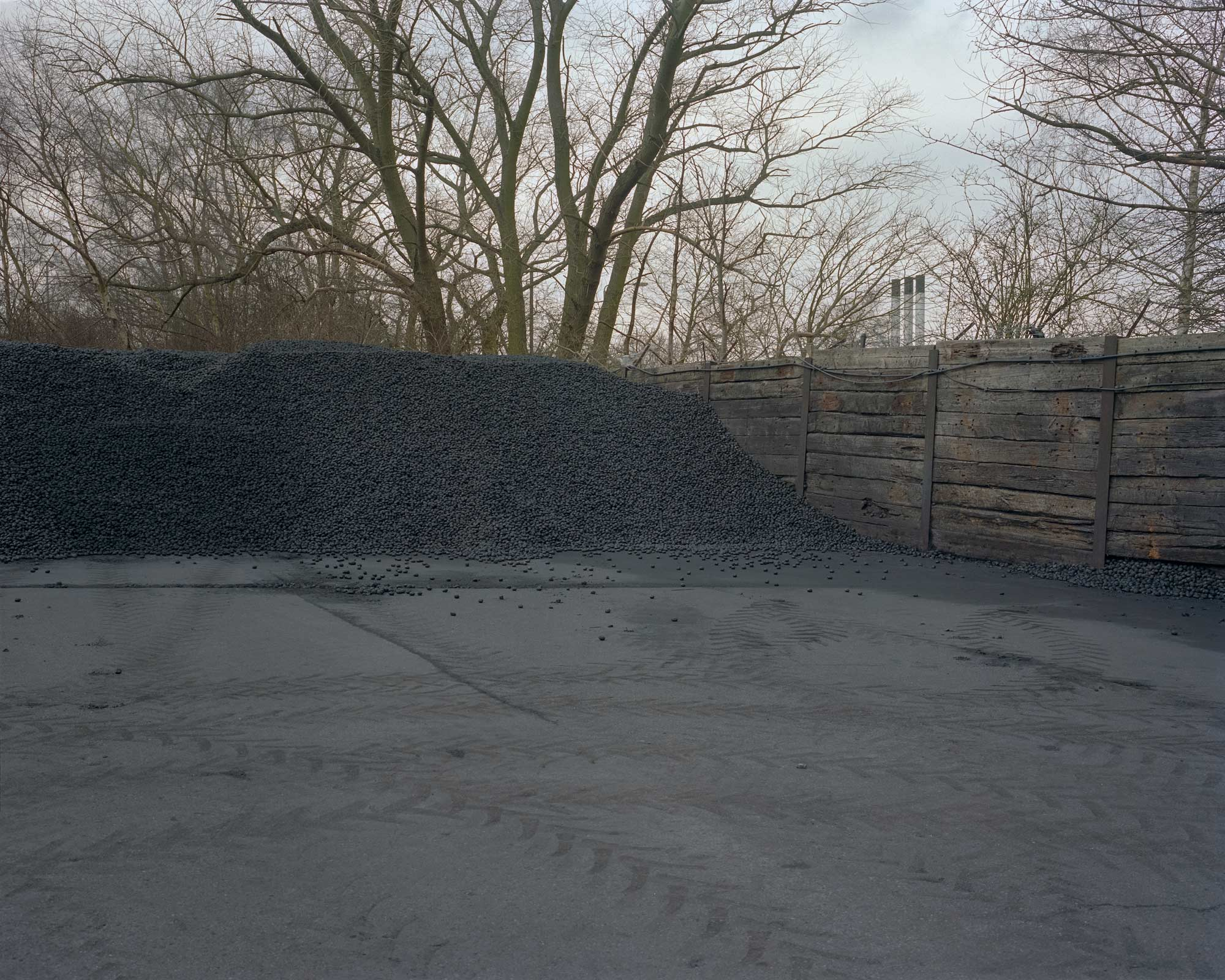 Coal depot, Mansfield, Nottinghamshire.