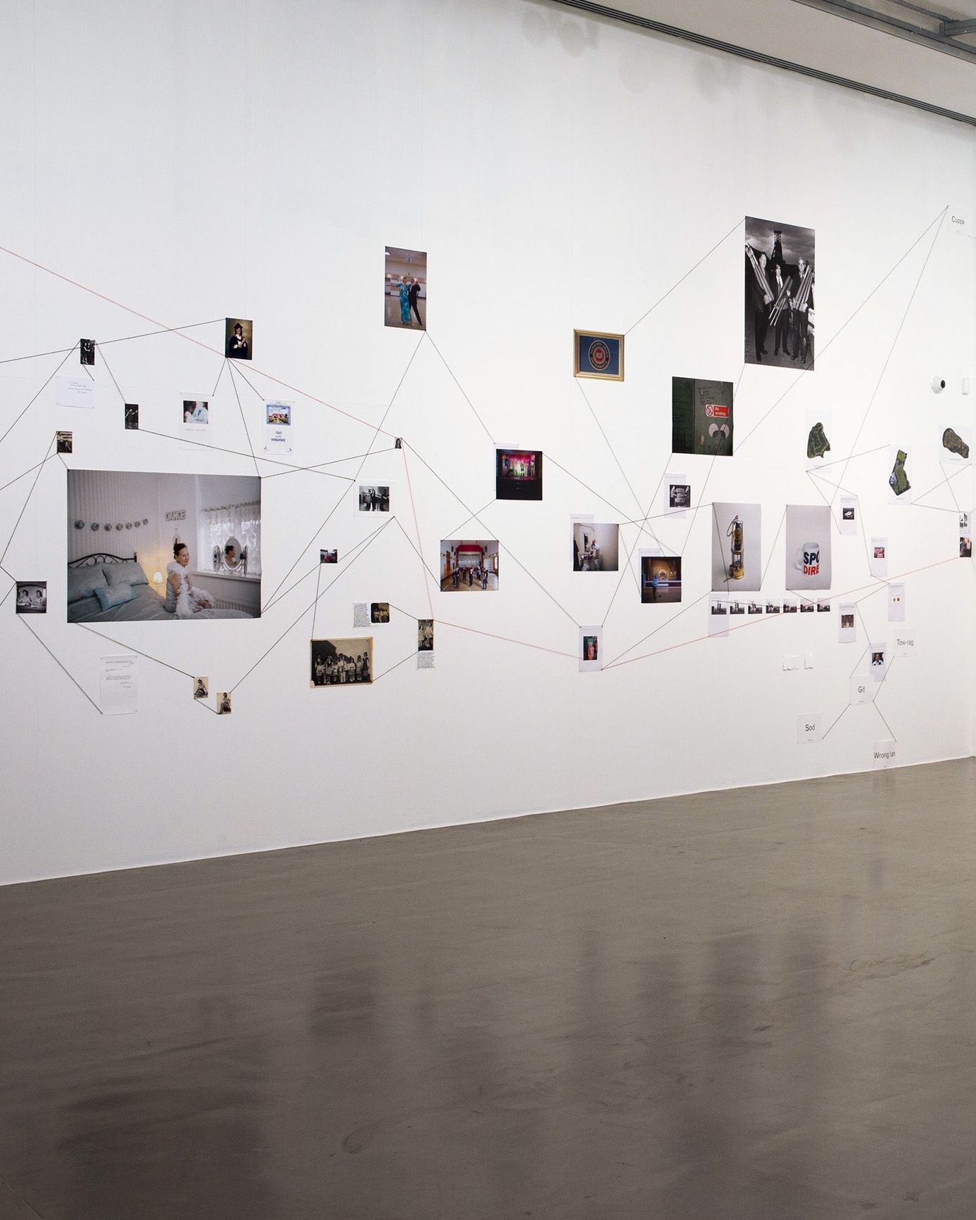 Middle Bound exhibition, Derby QUAD.