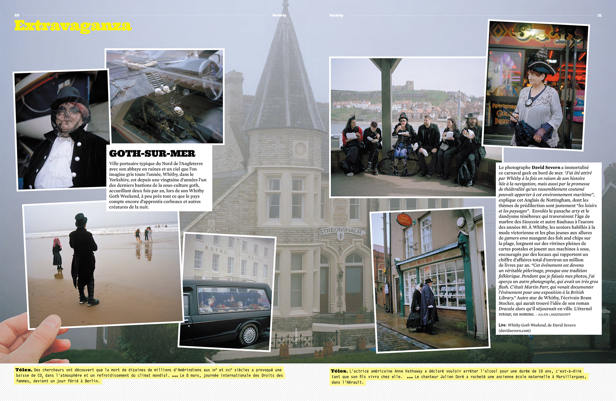 Whitby Goth Weekend featured in Society magazine