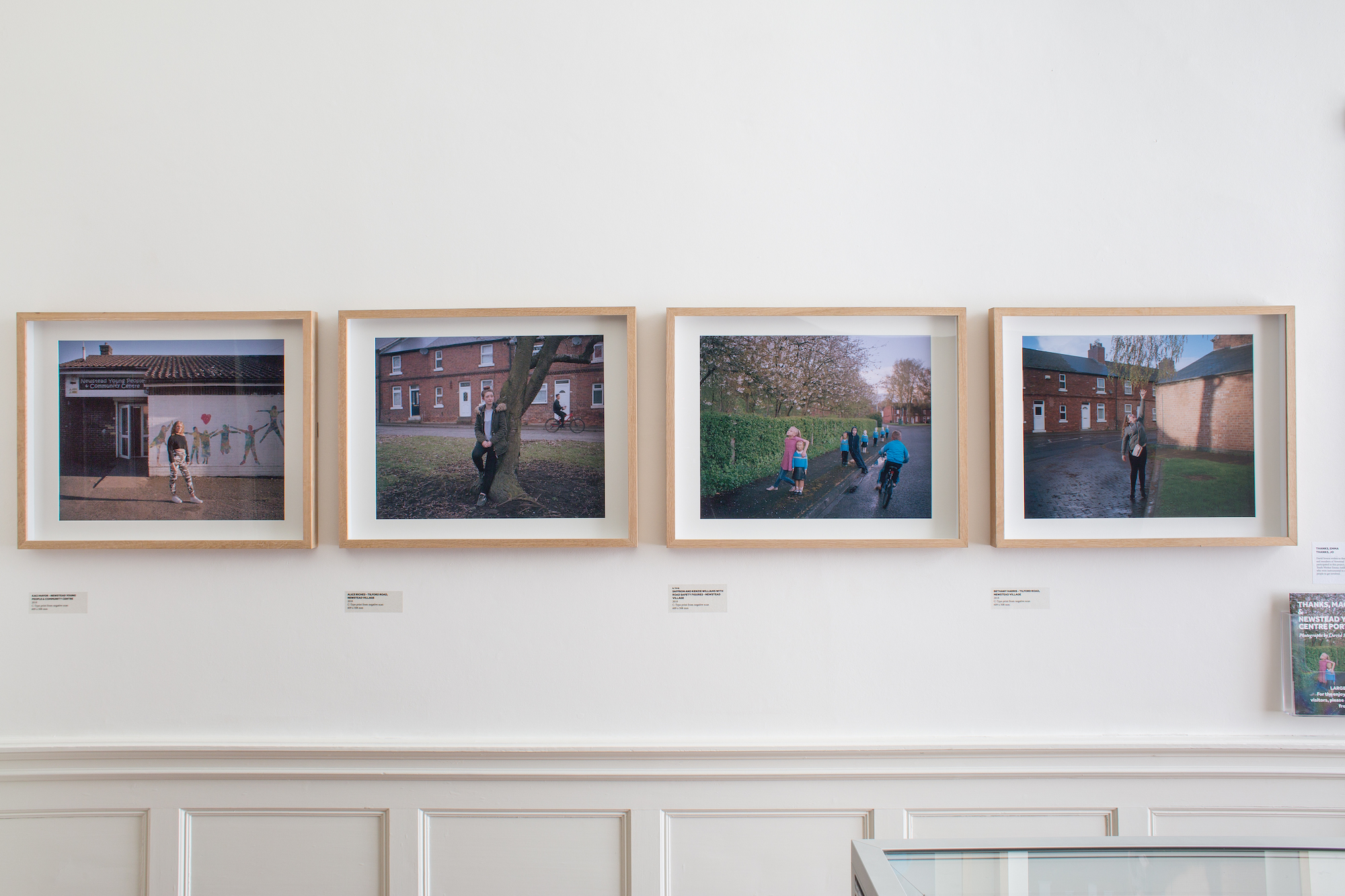 Thanks Maggie & Newstead Youth Centre Portraits exhibition at Newstead Abbey, Nottinghamshire.