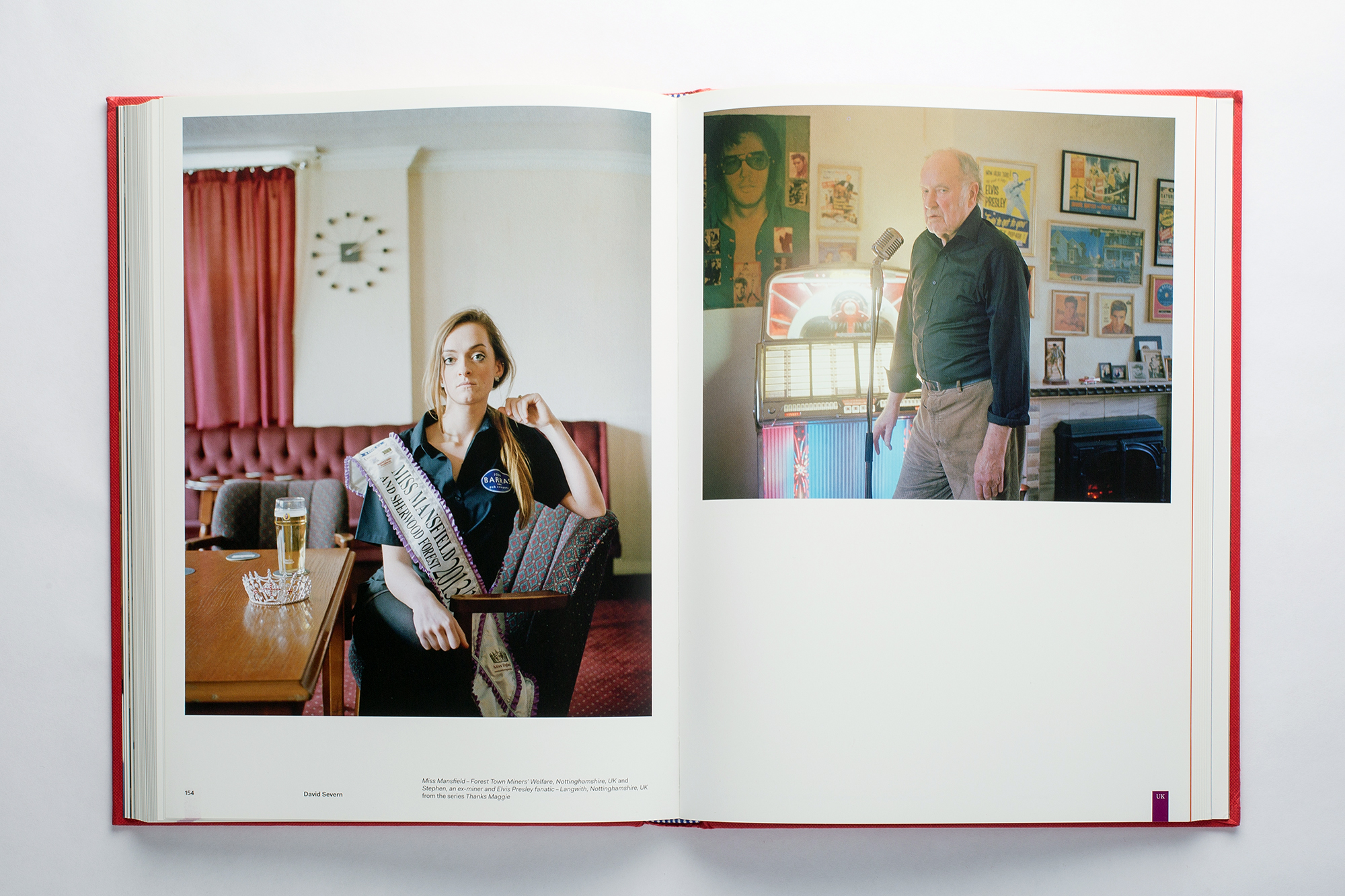 """Portraits from the series """"Thanks Maggie"""" in the Flash Forward 2016 book"""