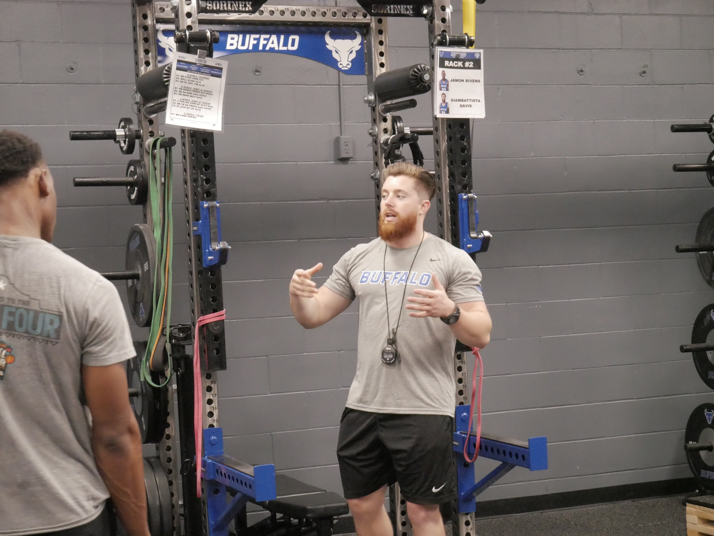 Sean Conaty, Director of Strength and Conditioning for Olympic Sports, University at Buffalo