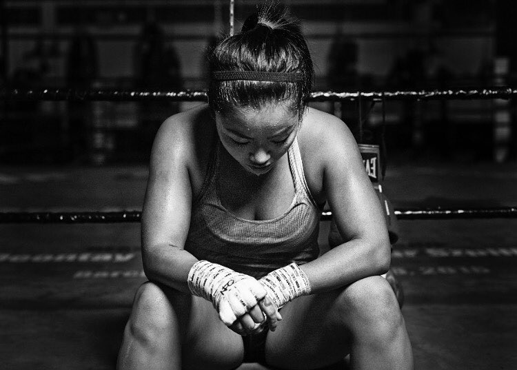 we all have a fighter within - what are you fighting for?