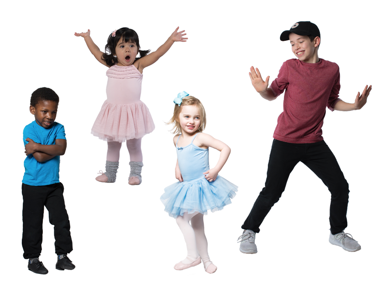 Recreational Program - Multiple Genres of dance for kids, ages 18mo - 18 yrs old.
