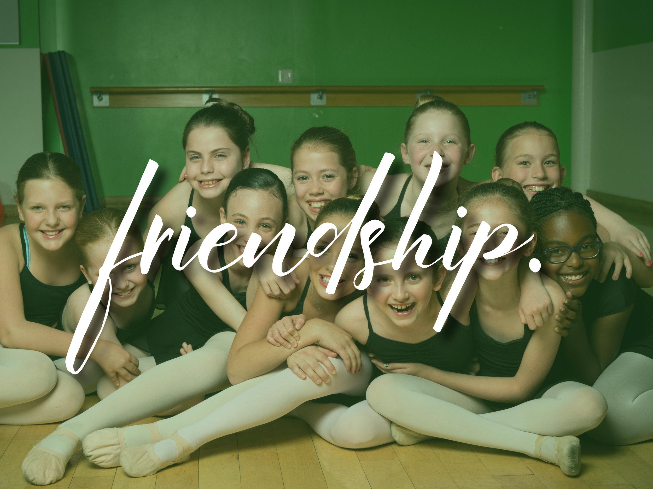 FRIENDSHIP.