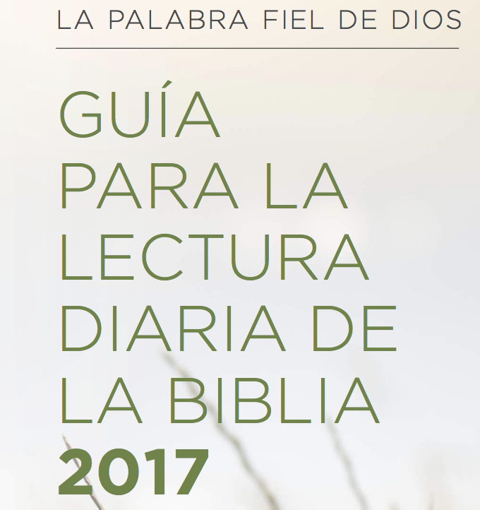 Daily Bible Reading Guide Spanish