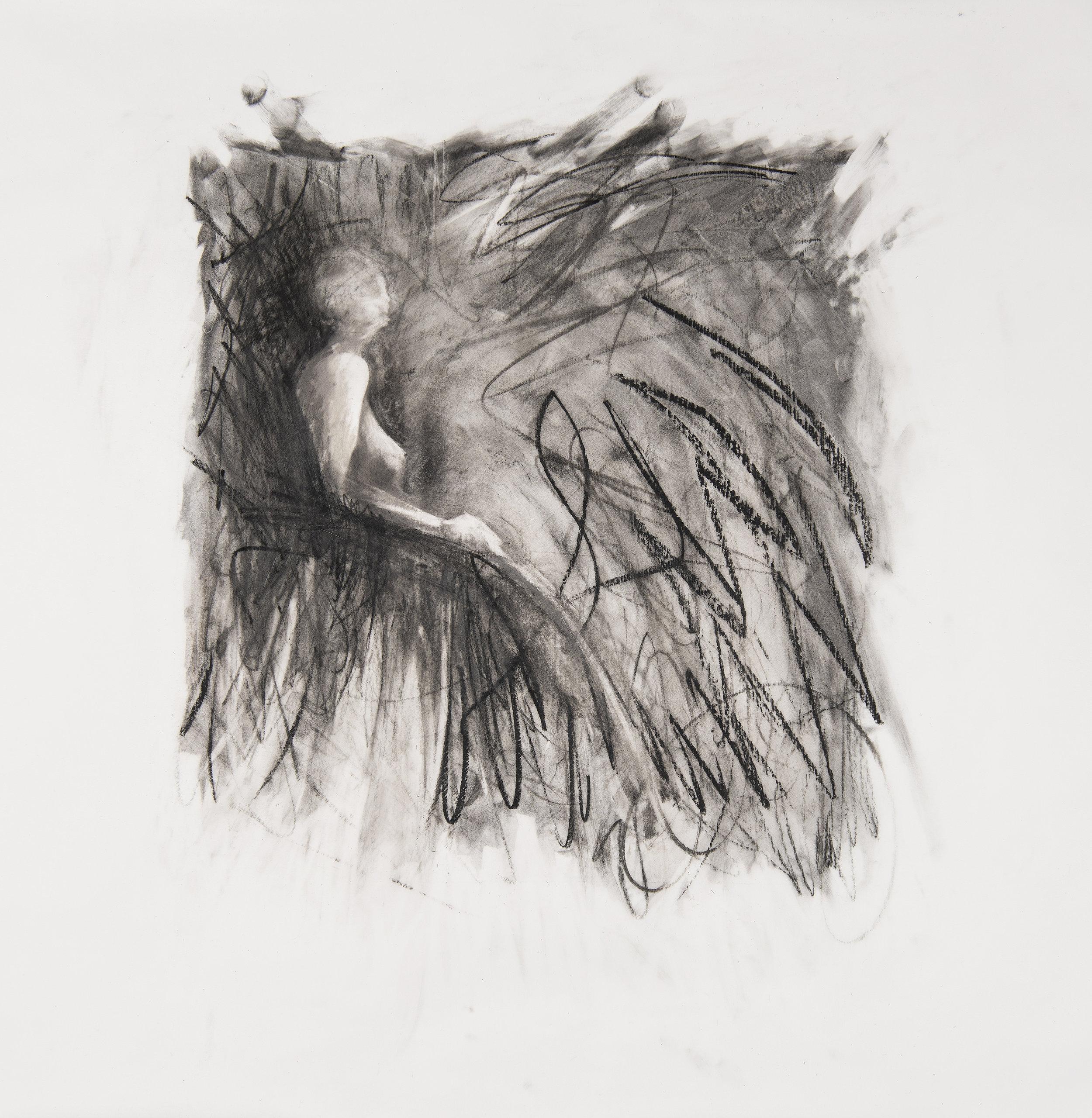 Midpoint drawing study III , 2018 Image credit: Noah da Costa