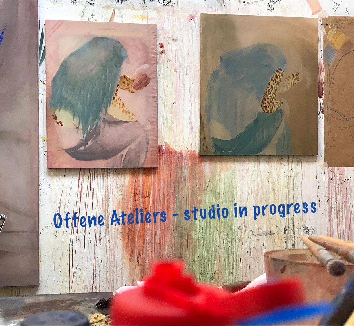 Alex Roberts studio, in progress.